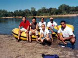 Rafting on the American River, 2003